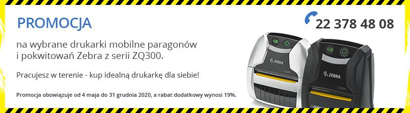 Promocja na drukarkę Zebra ZQ300