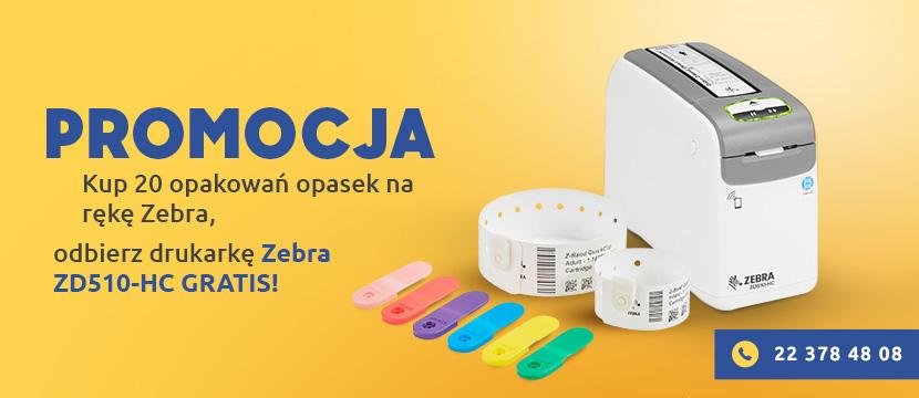 Odbierz drukarkę Zebra ZD510-HC gratis