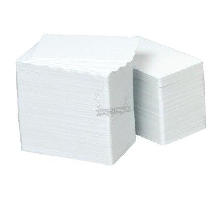 Karty plastikowe ZEBRA PVC Premier Plus kompozytowe białe - 104524-801