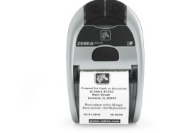 Drukarka termiczna iMZ220 Zebra; CPCL/ZPL, UK Plug, USB/802.11n, 16M/128M, iOS, LinkOS, English, Grouping E